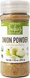 Jackie's Kitchen Onion Powder, 1.75 Ounce