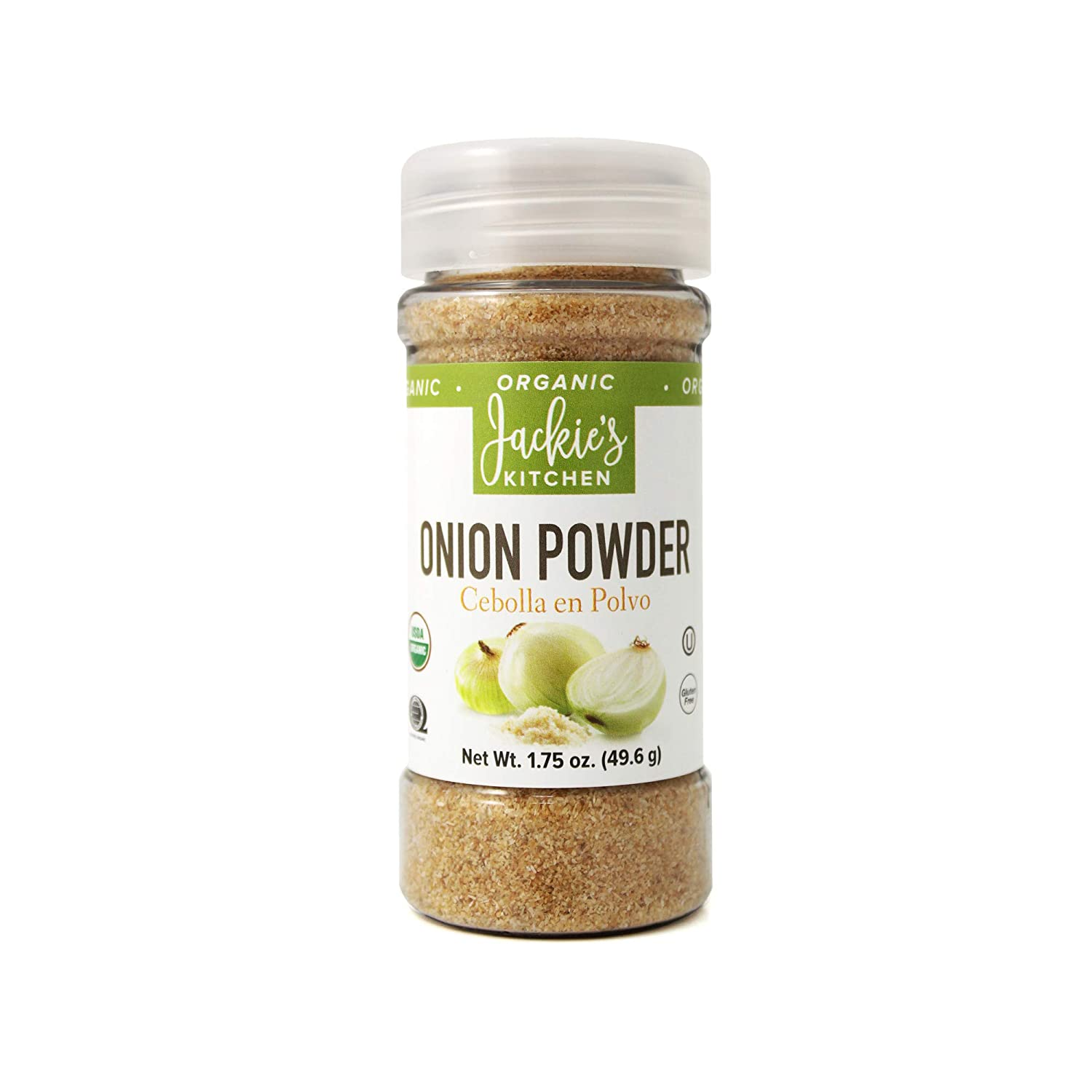Sacramento Mall Jackie's Kitchen Onion Ounce Powder Our shop OFFers the best service 1.75