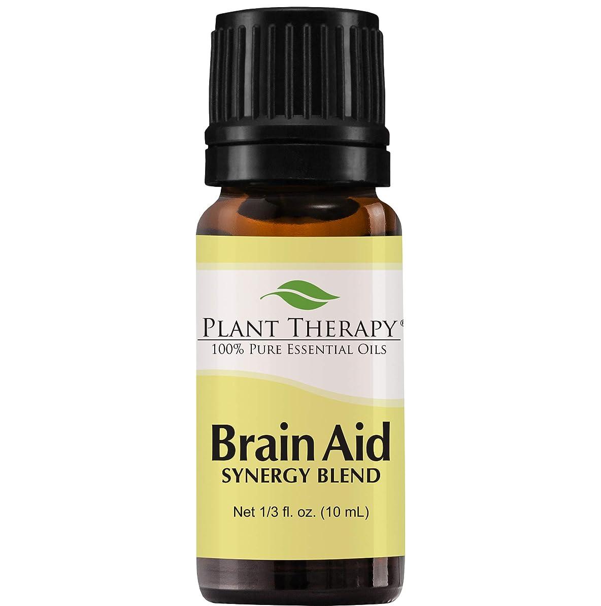 聴く触覚メカニック脳援助シナジー(精神的な焦点と明確にするため)。エッセンシャルオイルブレンド。 10ミリリットル(1/3オンス)。 100%ピュア、希釈していない、治療グレード。