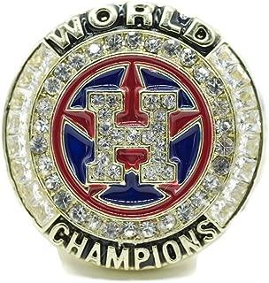 2017 Houston Astro's World Series Ring Gold Edition W/box