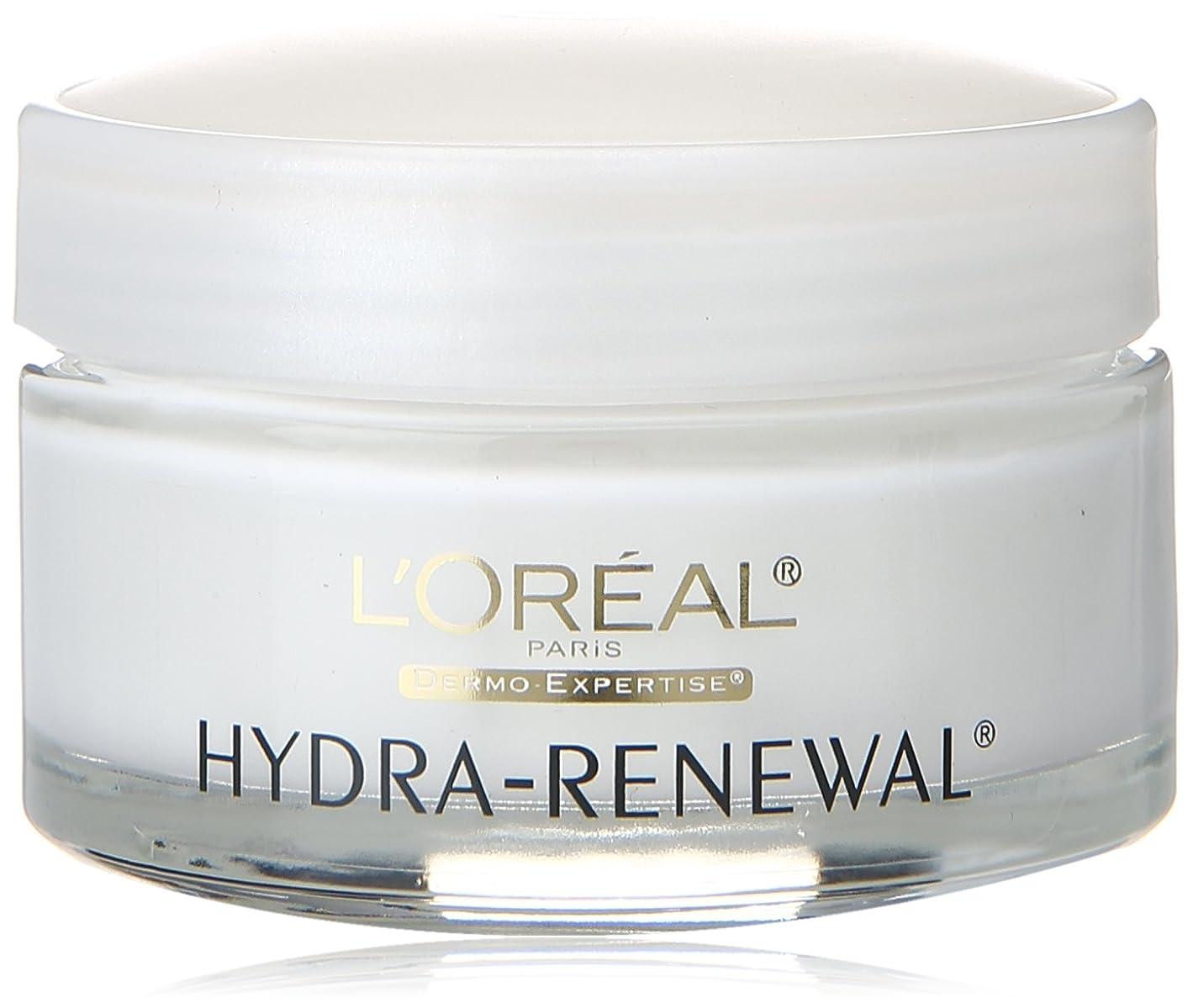 クロス戻る独裁者L'Oreal Dermo-Expertise Hydra-Renewal Daily Cream 1.7 oz (並行輸入品)