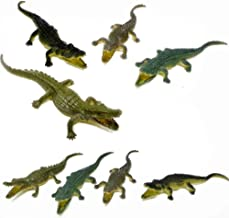 Fun Central 2 Packs of 12 Pieces - Small Rubber Crocodile & Alligator Toy Figure for Toddlers and Kids