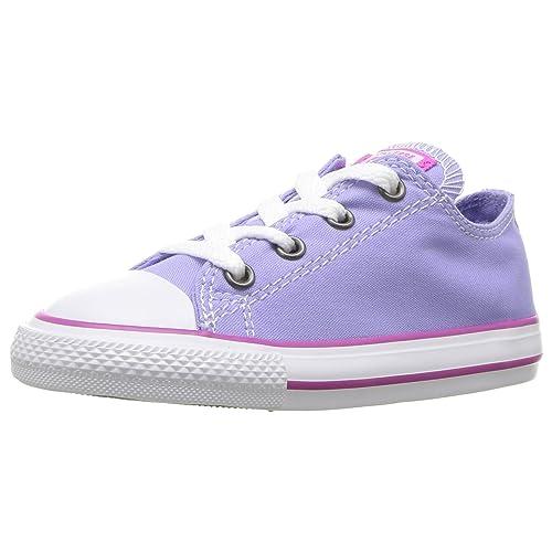 475a7b7cb4d460 Converse Kids  Chuck Taylor All Star Seasonal Canvas Low Top Sneaker