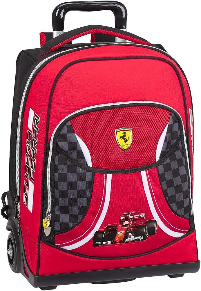 Ferrari zaino organizzato trolley per la scuola
