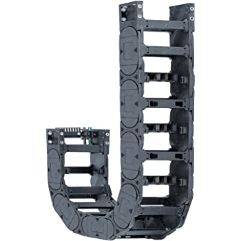 3.15 Inner Height 9.84 Bend Radius Snap-Open Tube Igus R4-80-20-250-0 Energy Chain Cable Carrier 1ft Chain Length 2.91 Max Cable Diameter 7.87 Inner Width Polymer