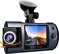 Dash Cam, Trekpow T1 HD 1080P Car DVR Dashboard Camera with 180°Rotation Len, 2
