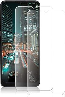 ROVLAK skärmskydd för Alcatel 3X 2020 härdat glas skärmskydd 2-pack HD 2.5D 9H skyddande film skydd anti-fingeravtryck bub...