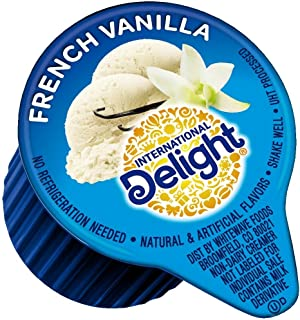 International Delight, French Vanilla, Single-Serve Coffee Creamers, 288 Count (Pack of 1), Shelf Stable Non-Dairy Flavore...