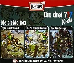 Die drei ??? Kids. 3er Box Folgen 19 - 21 (drei Fragezeichen) 3 CDs