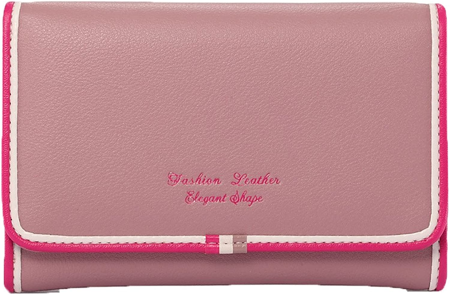 Genuine Leather Ladies Coin Purse Credit Card Holder Short Wallet