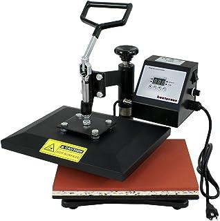 ZENY 10x12 Digital Heat Press Machine Clamshell Heat Printing Transfer Sublimation Machine for T-Shirt 360 Degree Swing Away