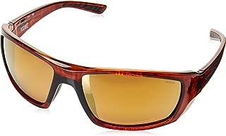 Wiley-X ACKOB04 Kobe Sunglasses Polarized Venice Gold Mirror, Black