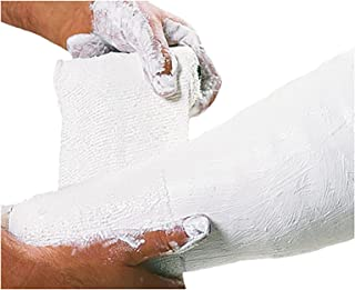Cellona Plaster of Paris, Medical Plaster Cloth Gauze Bandage, Professional Cast Wrap with Smooth Finish & Extra-Fast Set Time for Casting, 3
