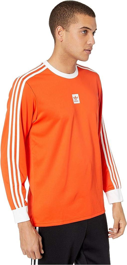Active Orange Melange/White