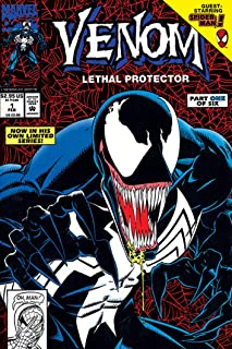 Venom - Marvel Comics Poster Print (Comic Cover - Lethal Protector Part 1) (Size: 24 inches x 36 inches)