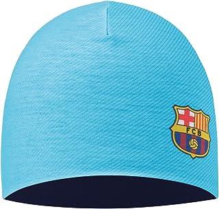 Marineblau Cuff FC Barcelona Unisex Barcelona Strickm/ütze mit Manschette