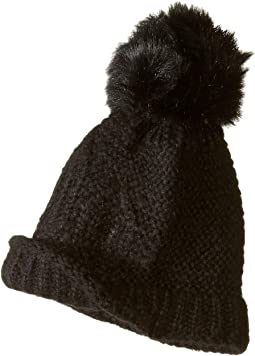 Single Pom Knit Hat
