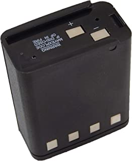 vhbw NiMH batería 1800mAh (9.6V) para Radio, walkie-Talkie como Motorola NTN5414, NTN5447