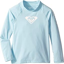 Whole Hearted Long Sleeve Rashguard (Toddler/Little Kids/Big Kids)