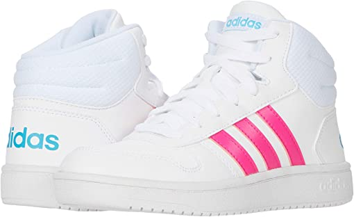 Footwear White/Shock Pink/Footwear White