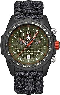 ساعة معصم لومينوكس بإصدار محدود بير جريلز 3798 | أسود/أخضر