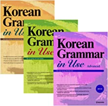 Korean Grammar in Use Beginning to Early Intermediate + Intermediate + Advanced Text Book Set (Mp3 Cd Included) Fast EMS Delivery