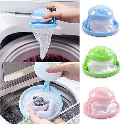 ANNIUP Net Pouch Home Floating Lint Hair Catcher Mesh Pouch Laundry Filter Bag Net Pouch 1Pc