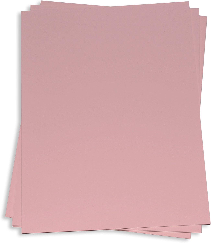 Dusty Rose Card Stock - 12 Cheap SALE Start 111lb x LCI Matte Hue OFFicial site