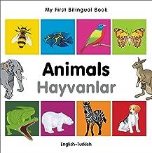 My First Bilingual Book - Animals - English-vietnamese