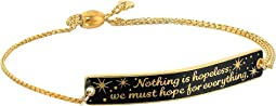 Alex and Ani - Wrinkle In Time - Nothing is Hopeless Pull Chain Bracelet