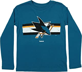 Outerstuff NHL Youth Boys San Jose Sharks Honor Code Hoodie, Teal