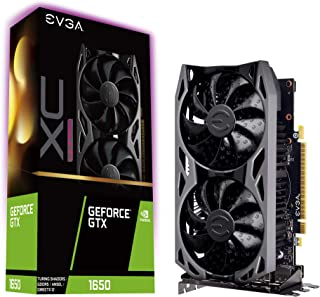 EVGA GeForce GTX 1650 XC Ultra Gaming, 4GB GDDR5, 04G-P4-1157-KR