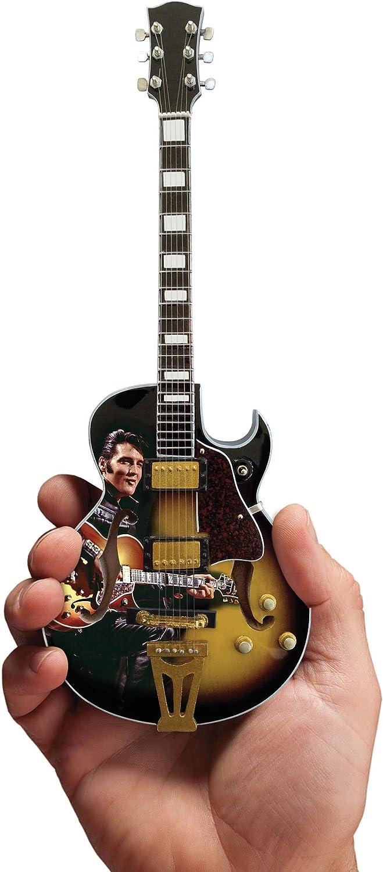 Elvis Presley 1968 Comeback Special Hollow Body Mini Réplica de guitarra coleccionable