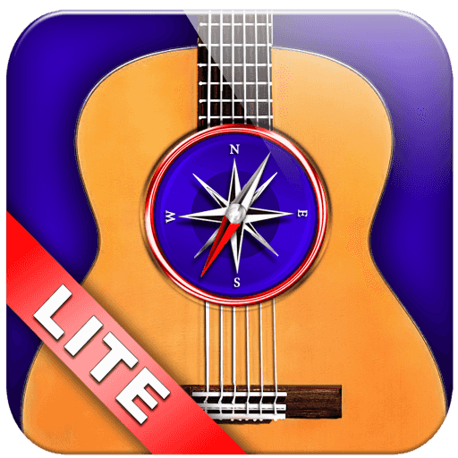 Guitar Chords Compass Lite - learn the chord charts & play them