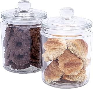 Best fancy glass jars with lids Reviews