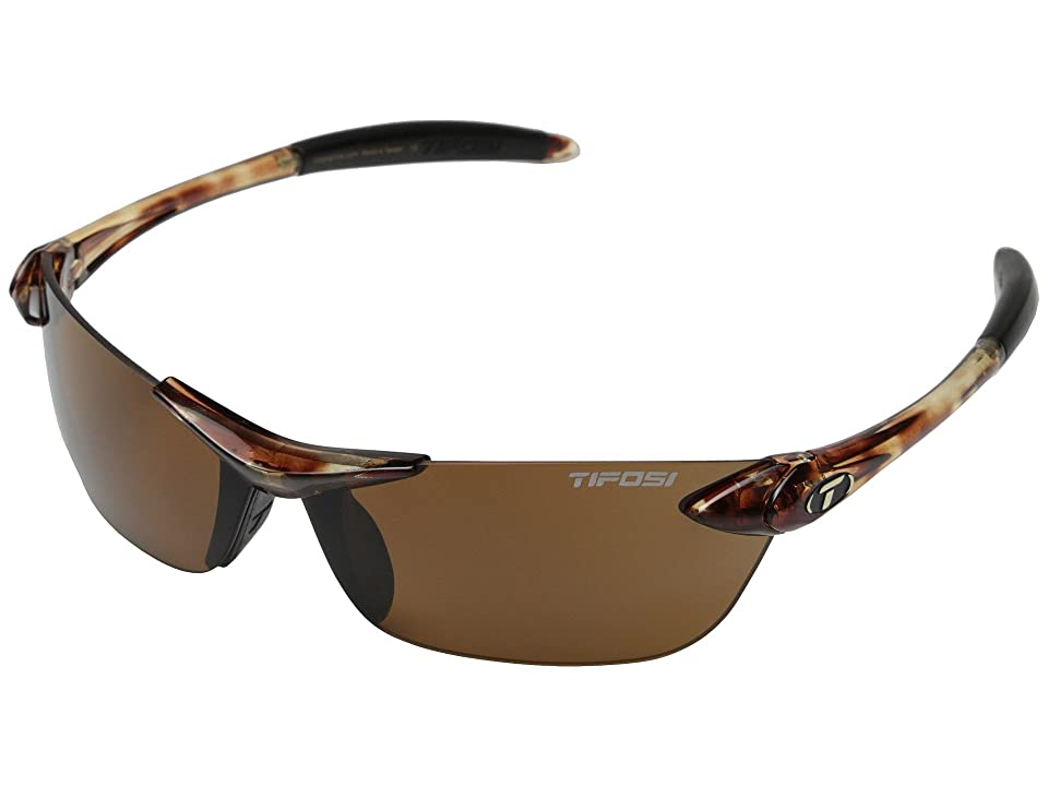 Tifosi Optics Seektm Polarized (Tortoise) Athletic Performance Sport Sunglasses