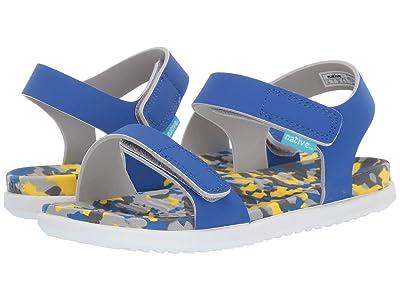 Native Kids Shoes Charley (Little Kid) (UV Blue/Konpeito/Shell White) Kids Shoes