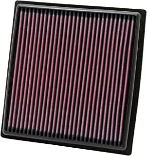K&N Engine Air Filter: High Performance, Premium, Washable, Replacement Filter: Fits 2010-2016 TOYOTA/LEXUS (Highlander Hybrid, RX450h), 33-2455