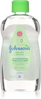 Johnson Johnsons Baby Olio Aloe Vera 1 Unidad 300 ml