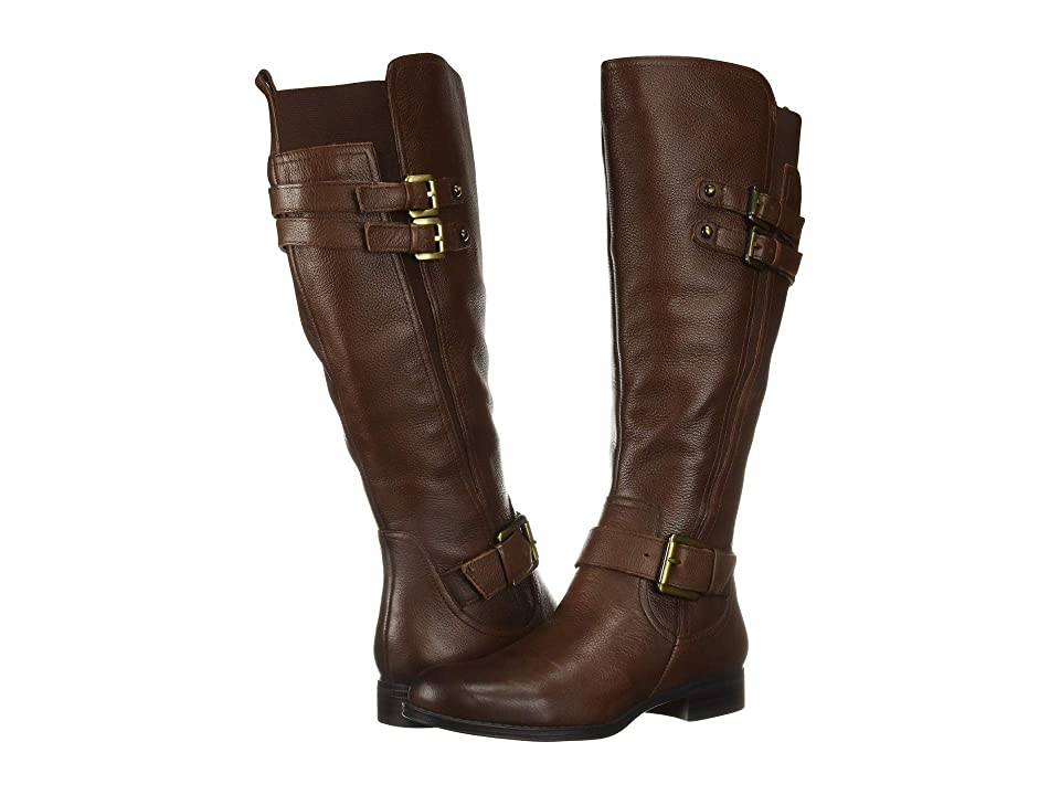 Naturalizer Jessie Wide Calf (Chocolate Wide Calf Leather) Women's Boots