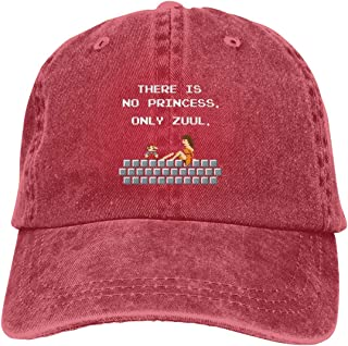 There is No Princess Only Zuul Sports Adjustable Denim Cap Hat