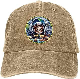 Space Race Monkey Adult Baseball Caps Adjustable Snapback Dad Hat