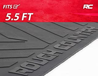 Rough Country Rubber Bed Mat (fits) 2007-2019 Tundra 5.5 FT Bed Truck Bed Liner RCM618