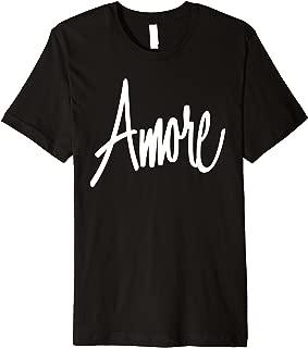 Italian Amore Love T Shirt