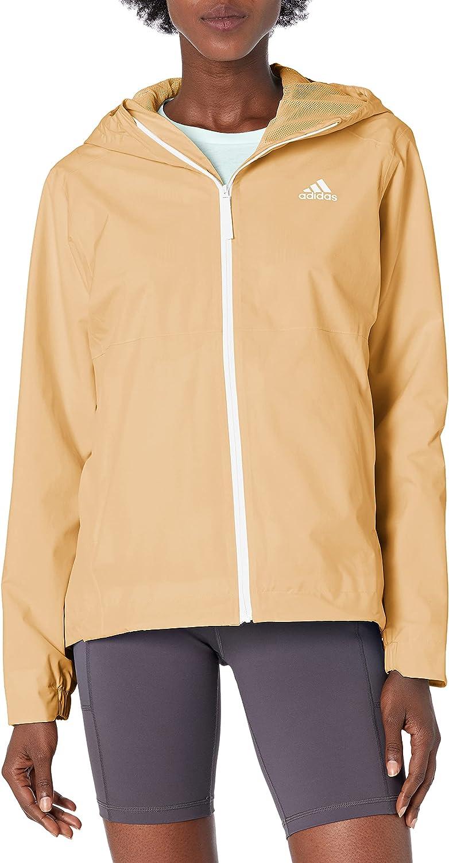 adidas Max 82% OFF Women's Basic Jacket Rain.rdy 3-Stripes Nashville-Davidson Mall