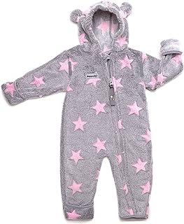 HOPPEDIZ Fleece Jumpsuit for Baby and Toddler  48-52