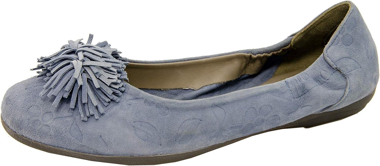 Marc Shoes Women's Espadrille Ballet Flat