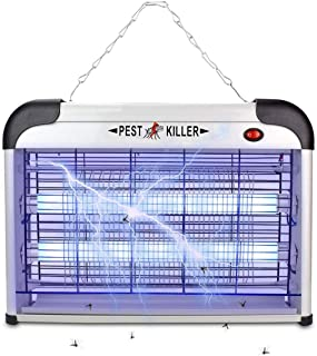 Electric Bug Zapper/Pest Repeller Control-Strongest Indoor 2800 Volt UV Lamp Flying Fly..