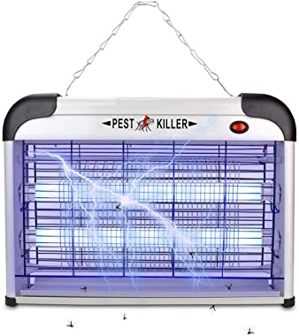 Electric Bug Zapper/Pest Repeller Control-Strongest Indoor 2800 Volt UV Lamp Flying Fly Insect Killer Mosquitoes Flies Killer