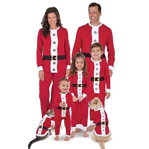 PajamaGram Matching Christmas Pajamas for Family - Family Christmas  Pajamas abd6e2983c0b